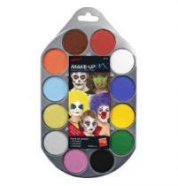 Arcfesték paletta, 12 színnel, 39145