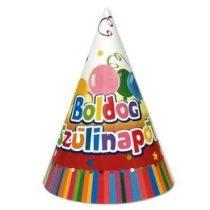 Csákó Boldog Születésnapot! 6db, 30601