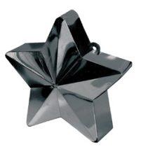Léggömbsúly, nehezék 170g csillag forma, fekete színben, 11780010