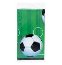 Műanyag asztalterítő 137x213cm, foci, p27303