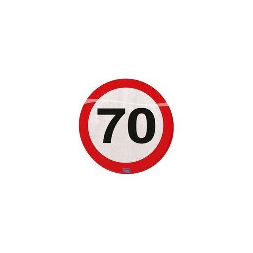 Szalvéta sebességkorlátozó számos 30cm 20db 70-es számmal f28370