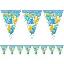 Boldog 1. szülinapot! Kék zászlófüzér 5m, 24565