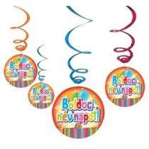 Boldog névnapot! függő dekoráció, m30557