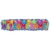Banner, Wekcome home!, mb33916