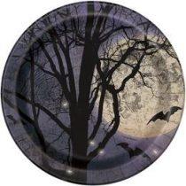 Kísérteties éjszaka Parti Tányér Halloween - 22cm, 8db, p57935