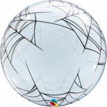 """Halloween pókhálós Deco Bubbles lufi 24"""" 61cm Héliummal töltve, 17392"""