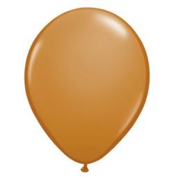 "QUALATEX 11"" (28cm-es) Latex léggömb, fashion színek, kávébarna lufi, fashion mocha brown"