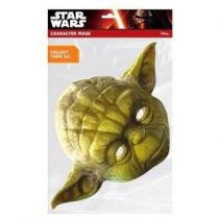 Karton maszk - Yoda, 32414