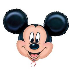 """Óriás fólia lufi 27""""x21"""", 69x53cm, Mickey,0776401, héliummal töltve"""