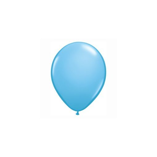 "QUALATEX 11"" (28cm-es) Latex léggömb, standard színek, tengerkék lufi, standard pale blue"