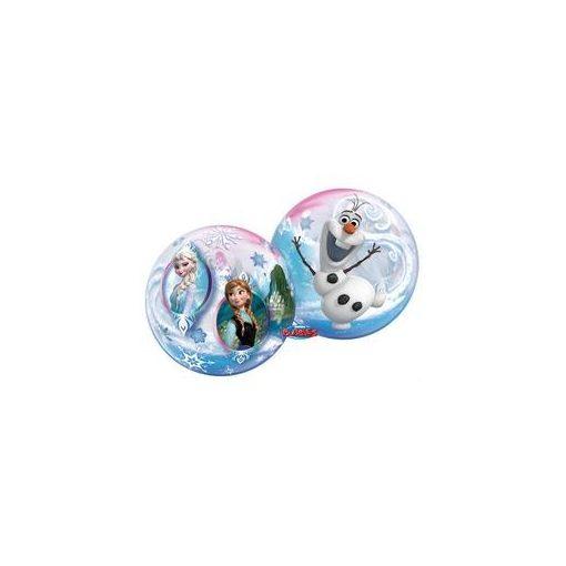 """Mintás Bubbles lufi 22"""" 56cm Héliummal töltve Disney Jégvarázs, Frozen, 32688"""
