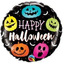 """Fólia lufi 18"""" 45cm Halloween, 89822, héliummal töltve"""