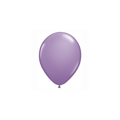 "Lufi QUALATEX 11"" (28cm-es) Latex léggömb, fashion színek 100db/csomag, orgona, fashion spring lilac"