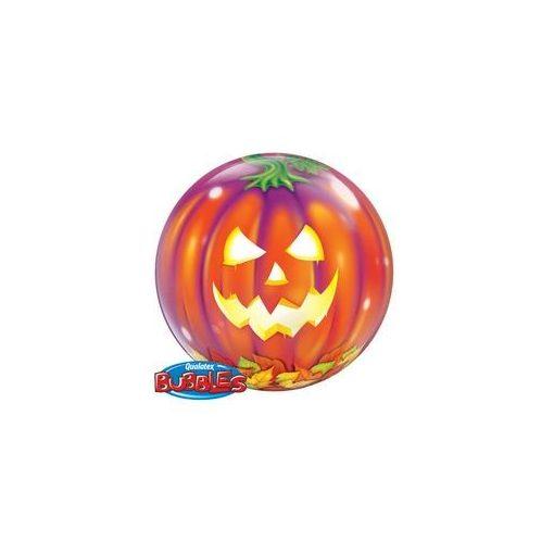"""Halloween tök Bubbles lufi 22"""" 56cm Héliummal töltve, 18494"""