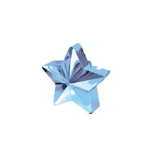 Léggömbsúly, nehezék 170g csillag forma, világoskék színben, 11780011