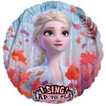 """Éneklő, zenélő lufi 28"""" (71cm) Jégvarázs, Frozen, Héliummal töltött, n3032401"""