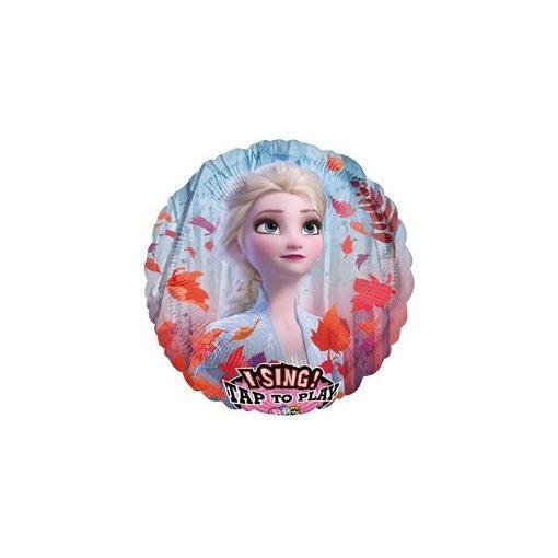 """Éneklő, zenélő lufi 28"""" (71cm) Jégvarázs, Frozen, Héliummal töltött, n4039301"""