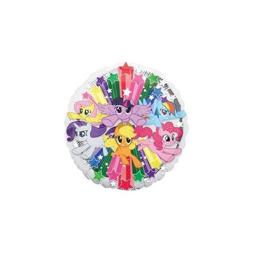 """Fólia lufi 17"""" 43cm My little Pony, 3490201, héliummal töltve"""