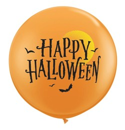 3 feet 91cm latex léggömb Halloween