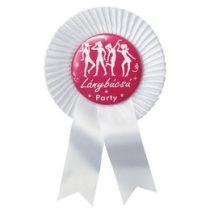 Kitűző lánybúcsúra 17x10cm Lánybúcsú party, 23735