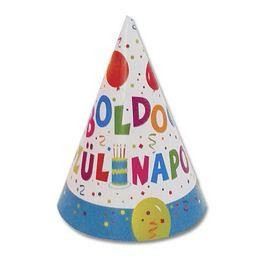 Csákó Boldog Születésnapot! 6db, Jamboree, 33886