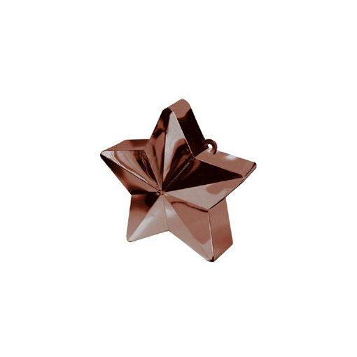 Léggömbsúly, nehezék 170g csillag forma, barna színben, 11780017