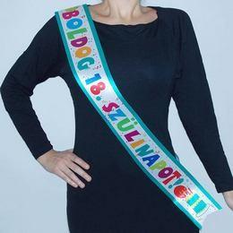 Vállszalag Boldog 18. Születésnapot, Jamboree, 35941