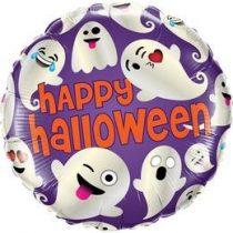 """Fólia lufi 18"""" 45cm Halloween, 58153, héliummal töltve"""