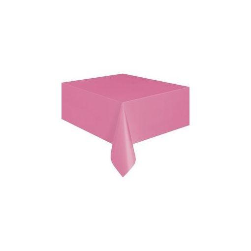 Műanyag asztalterítő 137x274cm pink, p5082