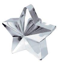 Léggömbsúly, nehezék 170g csillag forma, ezüst színben, 11780018