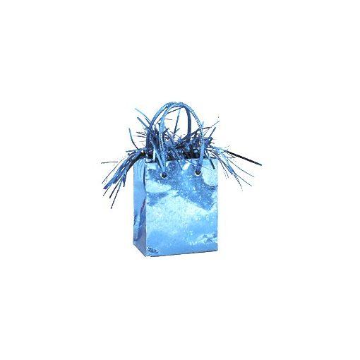 Léggömbsúly, nehezék 160g ajándéktasak forma, világoskék színben, 49013