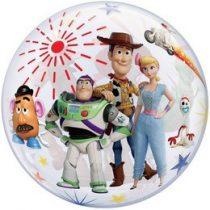 """Mintás Bubbles lufi 22"""" 56cm Héliummal töltve Disney Toy Story, 92612"""