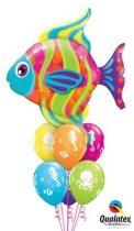 Héliumos luficsokor bármely alkalomra, hal - INGYENES KISZÁLLÍTÁSSAL