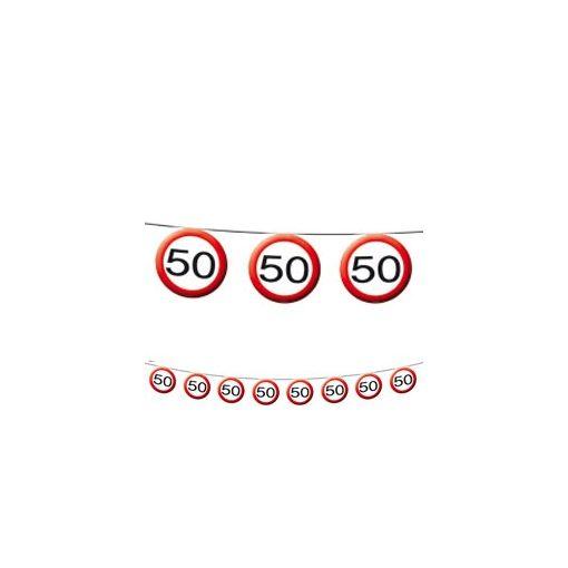 Füzér sebességkorlátozó számos 12m 50-es számmal f05183