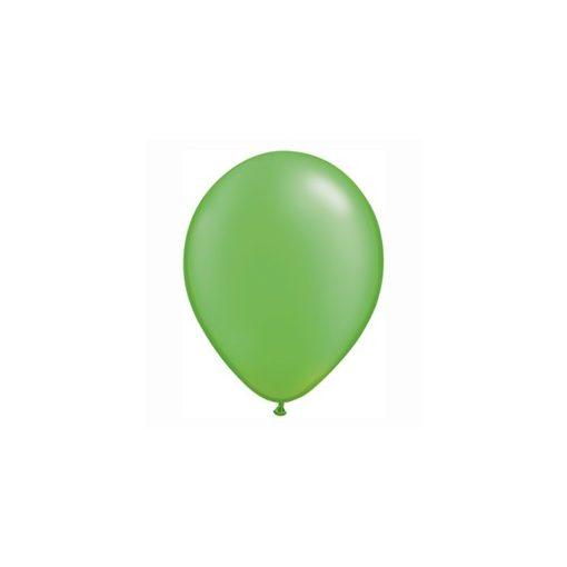 """Lufi QUALATEX 5"""" (13cm-es) gyöngyház (pearl) színek -  100db/csomag - gyöngyház limezöld, pearl lime green 49956"""