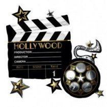 """Óriás fólia lufi 29""""  73cm csapótábla, Hollywood, n3683301, héliummal töltve"""