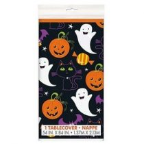 Perfect Pumpkin Parti Asztalterítő Halloweenre - 137cm X 259 Cm