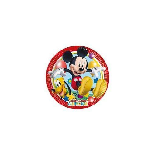 Papírtányér 20cm 8db, Mickey, 81840