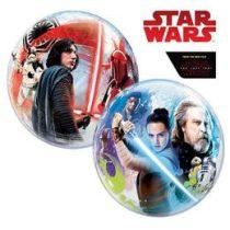 """Mintás Bubbles lufi 22"""" 56cm Héliummal töltve Disney Star Wars, 55252"""
