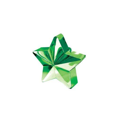 Léggömbsúly, nehezék 170g csillag forma, zöld színben, 11780003