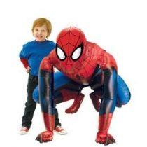 Óriás sétáló lufi, airwalkers 36 inch 91 cm Pókember, Spiderman