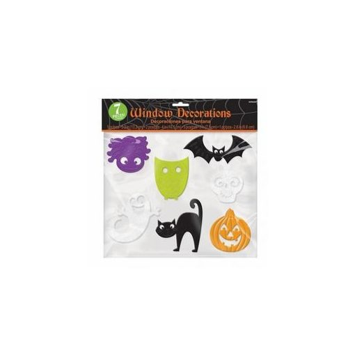 Ablakdekor Halloween 7db,  a220087