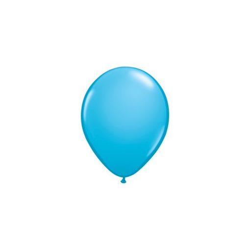 "Lufi QUALATEX 5"" (13cm-es) Latex léggömb, fashion színek 100db/csomag, égszínkék, fashion Robins egg blue 82683"