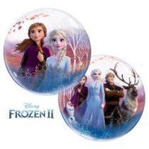 """Mintás Bubbles lufi 22"""" 56cm Héliummal töltve Disney Jégvarázs, Frozen, 97502"""