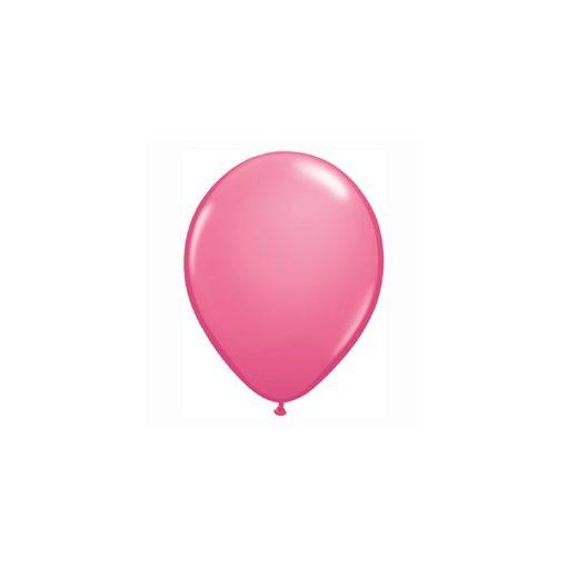 "Lufi QUALATEX 5"" (13cm-es) Latex léggömb, fashion színek 100db/csomag, rózsaszín, fashion rose 43600"