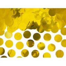 Konfetti fényes arany 15g, oKONS45-019