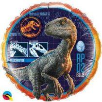 "Fólia lufi 18"" 45cm Dinoszaurusz, Dinosaur, 64690, héliummal töltve"