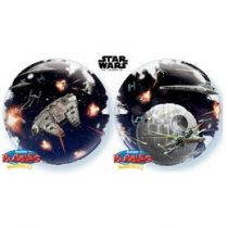 "Star Wars, Double Bubble lufi 24"" 60cm Halálcsillag, Death Star, Lufiban lufi, Héliummal töltve, 21320"