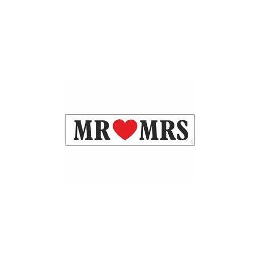 Esküvő, rendszám, Mr és Mrs, oTT80P