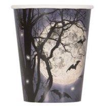 Kísérteties éjszaka Parti Pohár Halloween - 270ml, 8db p57936